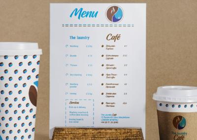 Création de logo pour un café-laverie