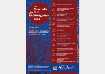 Programme annuel de conférences : les Mercredis de la Connaissance