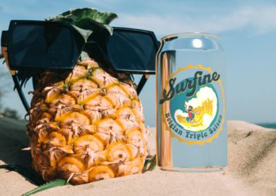 Bière Surfine : logo